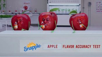 Snapple TV Spot, 'Flavor Accuracy Tests: Wilderness' - Thumbnail 1