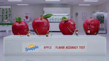 Snapple TV Spot, 'Flavor Accuracy Tests: Wilderness' - 1504 commercial airings