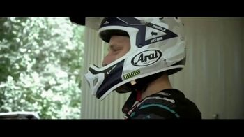 Arai Helmets TV Spot, 'Don't Have to Worry' Featuring Justin Barcia, Jimmy Decotis, Alex Martin - Thumbnail 1
