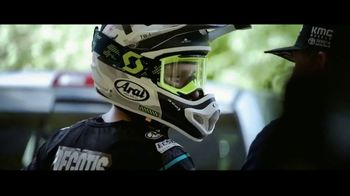Arai Helmets TV Spot, 'Don't Have to Worry' Featuring Justin Barcia, Jimmy Decotis, Alex Martin - Thumbnail 4