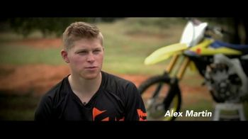 Arai Helmets TV Spot, 'Don't Have to Worry' Featuring Justin Barcia, Jimmy Decotis, Alex Martin - Thumbnail 6