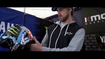 Arai Helmets TV Spot, 'Don't Have to Worry' Featuring Justin Barcia, Jimmy Decotis, Alex Martin - Thumbnail 9