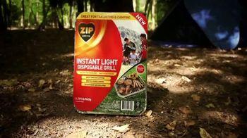 Zip Firestarters Instant Light Disposable Grill TV Spot, 'Making Grilling Easy' - Thumbnail 1