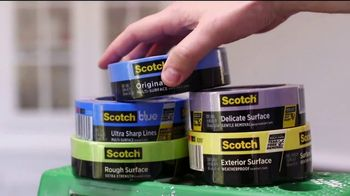 Scotch Painter's Tape TV Spot, 'Choosing the Right Tape' Featuring George Oliphant