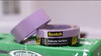 Scotch Painter's Tape TV Spot, 'Choosing the Right Tape' Featuring George Oliphant - Thumbnail 9