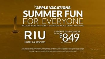 Apple Vacations TV Spot, 'Summer Fun: Riu Santa Fe' - Thumbnail 9