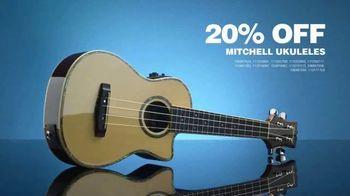 Guitar Center Guitarathon TV Spot, 'Ukuleles and Strings' Song by Nina Strauss - Thumbnail 5