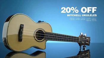 Guitar Center Guitarathon TV Spot, 'Ukuleles and Strings' Song by Nina Strauss - Thumbnail 6