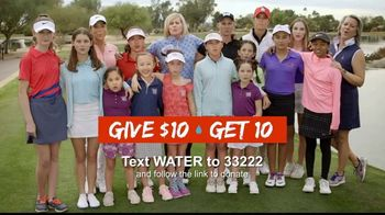 Golf Fore Africa TV Spot, 'Give $10, Get 10' Featuring Betsy King - Thumbnail 10