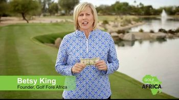 Golf Fore Africa TV Spot, 'Give $10, Get 10' Featuring Betsy King - Thumbnail 8