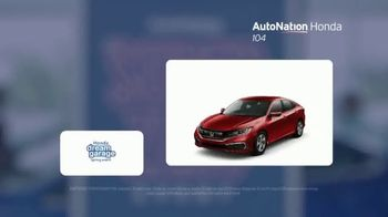 AutoNation Super Zero Event TV Spot, '2019 Honda Civic Sedan' Song by Bonnie Tyler