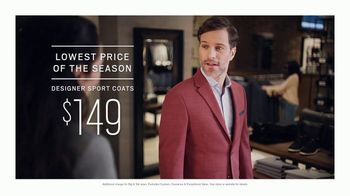 Men's Wearhouse Big Deal Event TV Spot, 'Lowest Price of the Season' - Thumbnail 4