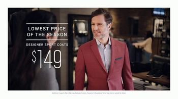 Men's Wearhouse Big Deal Event TV Spot, 'Lowest Price of the Season' - Thumbnail 5