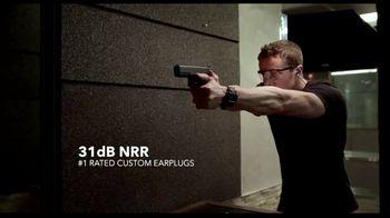 Decibullz Custom Molded Earplugs TV Spot, 'Secure and Comfortable' - Thumbnail 6