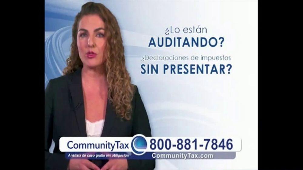 Community Tax TV Commercial, 'Problemas con el IRS'