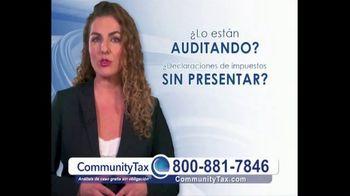 Community Tax TV Spot, 'Problemas con el IRS' [Spanish]