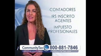 CommunityTax TV Spot, 'Problemas con el IRS' [Spanish]