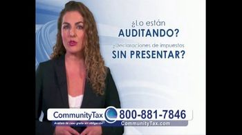 Community Tax TV Spot, 'Problemas con el IRS' [Spanish]