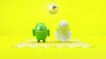 Snapchat TV Spot, 'To Android. Love, Snapchat: Now in Sync'