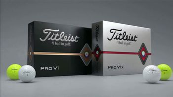 Titleist Pro V1x TV Spot, 'Prove It' Featuring Jordan Spieth - Thumbnail 10