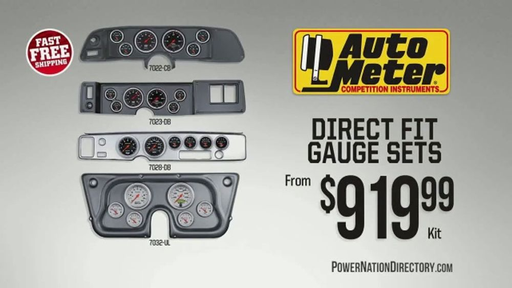 PowerNation Directory TV Commercial, 'Gauge Sets and Ignition Boxes'