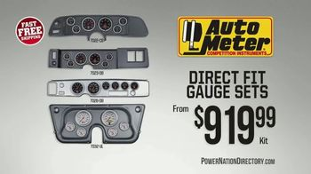 PowerNation Directory TV Spot, 'Gauge Sets and Ignition Boxes'