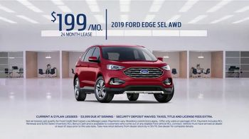 2019 Ford Edge TV Spot, 'Big on Technology and Safety' [T2] - Thumbnail 7