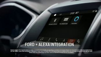 2019 Ford Edge TV Spot, 'Big on Technology and Safety' [T2] - Thumbnail 4