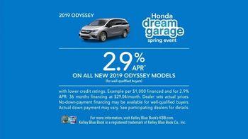 Honda Dream Garage Spring Event TV Spot, 'Keep the Peace' [T2] - Thumbnail 10