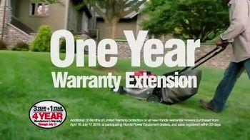 Honda Mower Sale-abration TV Spot, '$30 Instant Savings' - Thumbnail 5