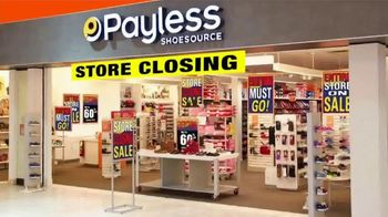 Payless Shoe Source Liquidation Savings TV Spot, 'All Stores Closing' - Thumbnail 2