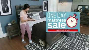Ashley HomeStore One Day Mattress Sale TV Spot, 'Sealy Response & Ashley Sleep Chime' Song by Midnight Riot - Thumbnail 2