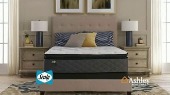 Ashley HomeStore One Day Mattress Sale TV Spot, 'Sealy Response & Ashley Sleep Chime' Song by Midnight Riot - Thumbnail 6
