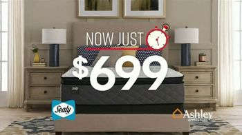 Ashley HomeStore One Day Mattress Sale TV Spot, 'Sealy Response & Ashley Sleep Chime' Song by Midnight Riot - Thumbnail 7