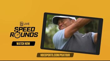 NBC Sports Gold TV Spot, 'PGA Tour Live: Speed Rounds' - Thumbnail 4