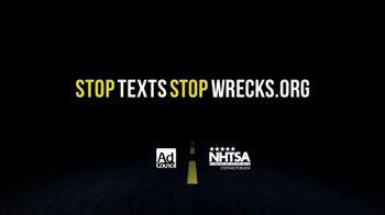 NHTSA TV Spot, 'The Average Text' - Thumbnail 3