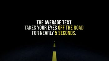 NHTSA TV Spot, 'The Average Text'