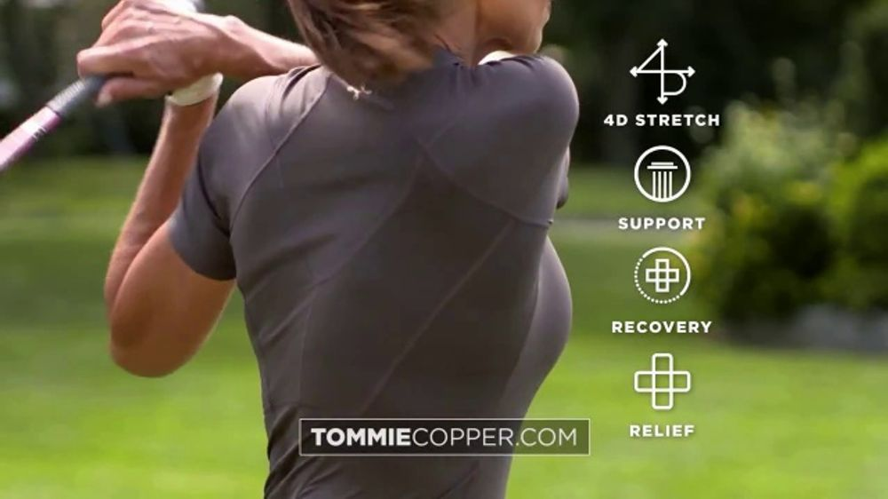 Tommie Copper Compression Apparel TV Commercial, 'Hundreds of Thousands of Steps'