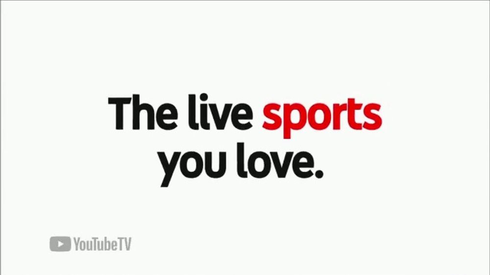 YouTube TV TV Commercial, 'Cable-Free Live TV: Watch Like a Fan' - Video
