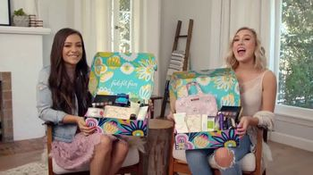 FabFitFun.com TV Spot, 'Fun Surprises' Featuring Maddie & Tae - 204 commercial airings