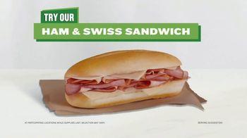 AmPm Ham & Swiss Sandwich TV Spot, 'The Fresh Section' - Thumbnail 8