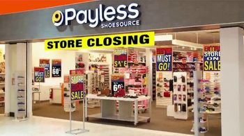 Payless Shoe Source Liquidation Savings TV Spot, 'Everything Must Go'
