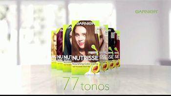 Garnier Nutrisse Nourishing Color Creme TV Spot, '77 tonos' con Mandy Moore [Spanish] - Thumbnail 3