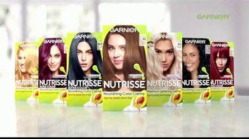 Garnier Nutrisse Nourishing Color Creme TV Spot, '77 tonos' con Mandy Moore [Spanish] - Thumbnail 7