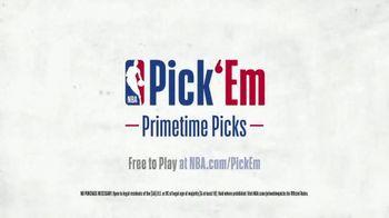 NBA Pick' Em Primetime Picks TV Spot, 'Game Within the Game' - Thumbnail 9