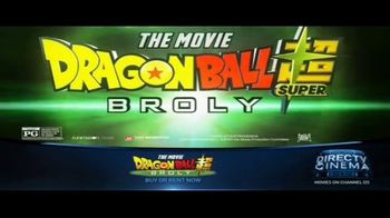 DIRECTV Cinema TV Spot, 'Dragon Ball Super: Broly' - Thumbnail 8