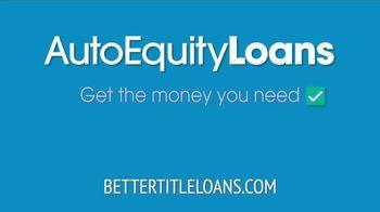 Auto Equity Loans TV Spot, 'Better Option' - Thumbnail 3