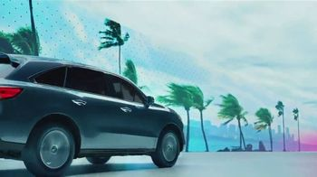 2019 Acura MDX TV Spot, 'Designed for Where You Drive: South Florida' Song by Lizzo [T2]