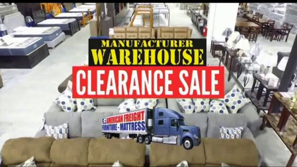 American Freight Manufacturer Warehouse Clearance Sale Tv