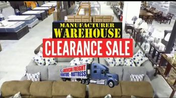 American Freight Manufacturer Warehouse Clearance Sale TV Spot, 'House Full of Furniture'